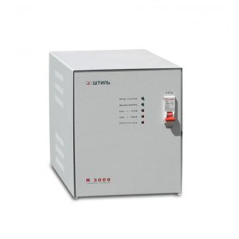Однофазный стабилизатор напряжения Штиль R3000 220В для дома, дачи